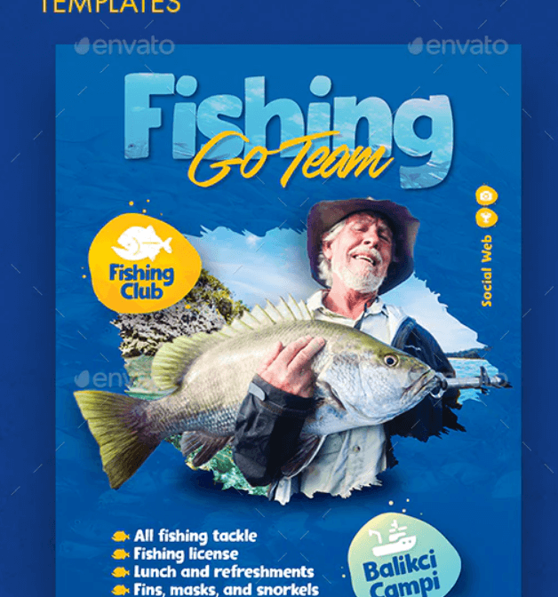 Fishing Flyer Templates1