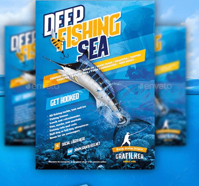 Fishing Flyer Templates2