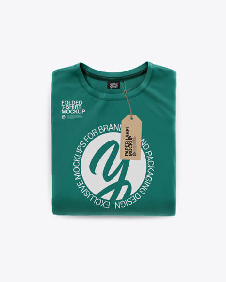 Folded T-Shirt Mockup1 (1)
