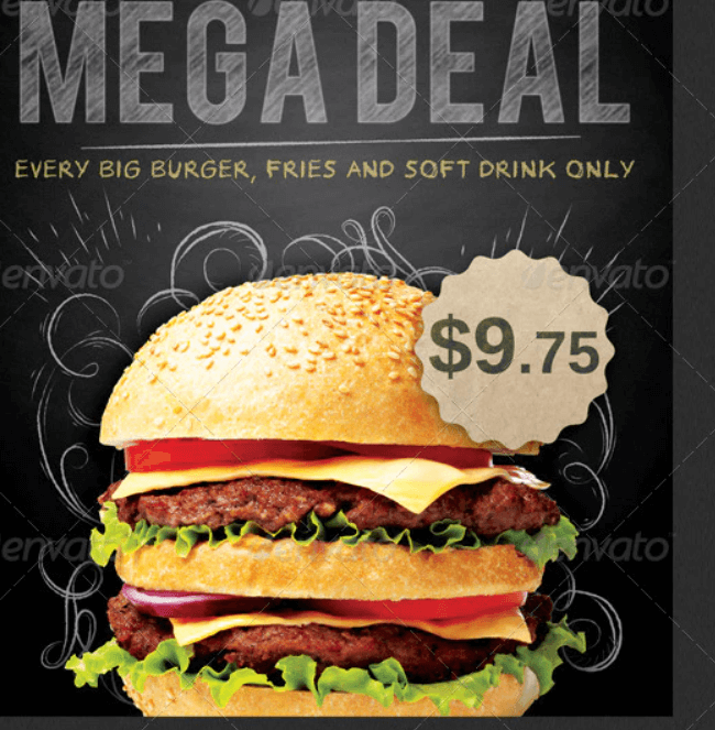 Food Promotion Flyer Template