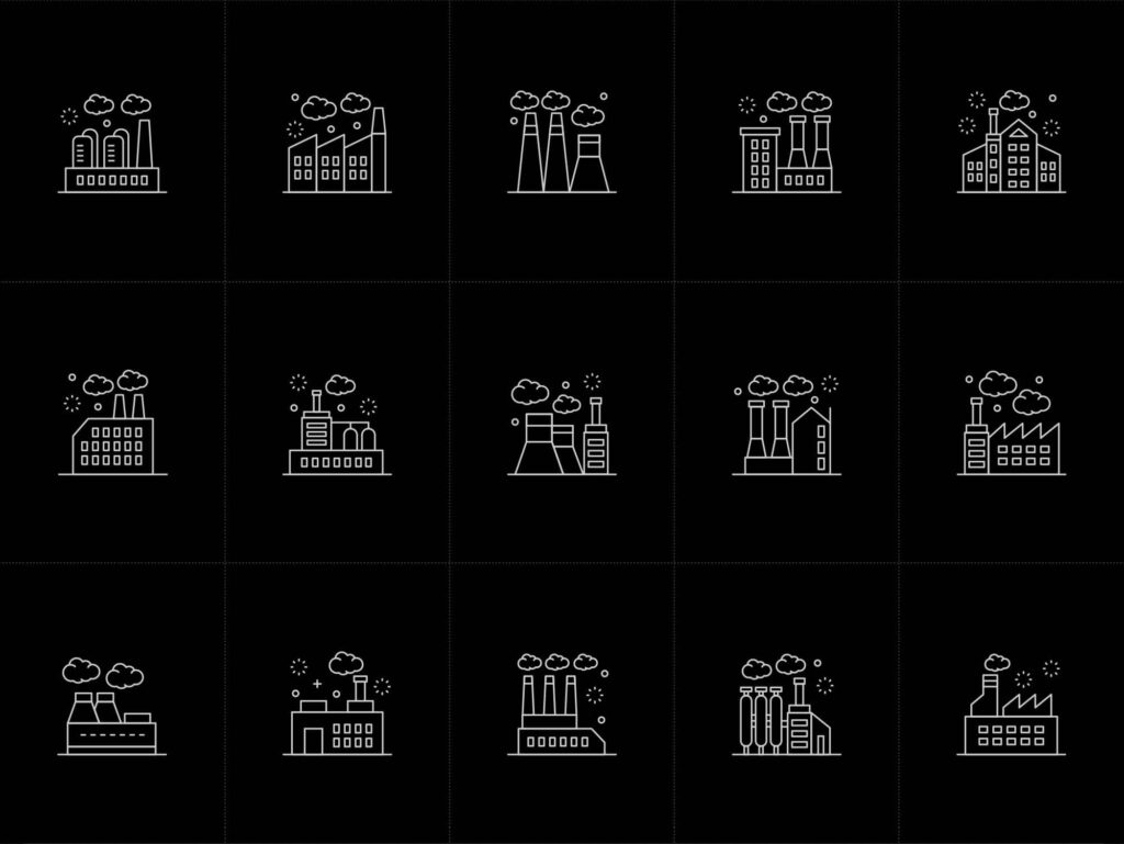Free 15+ Vector Factory Icons1 (1)