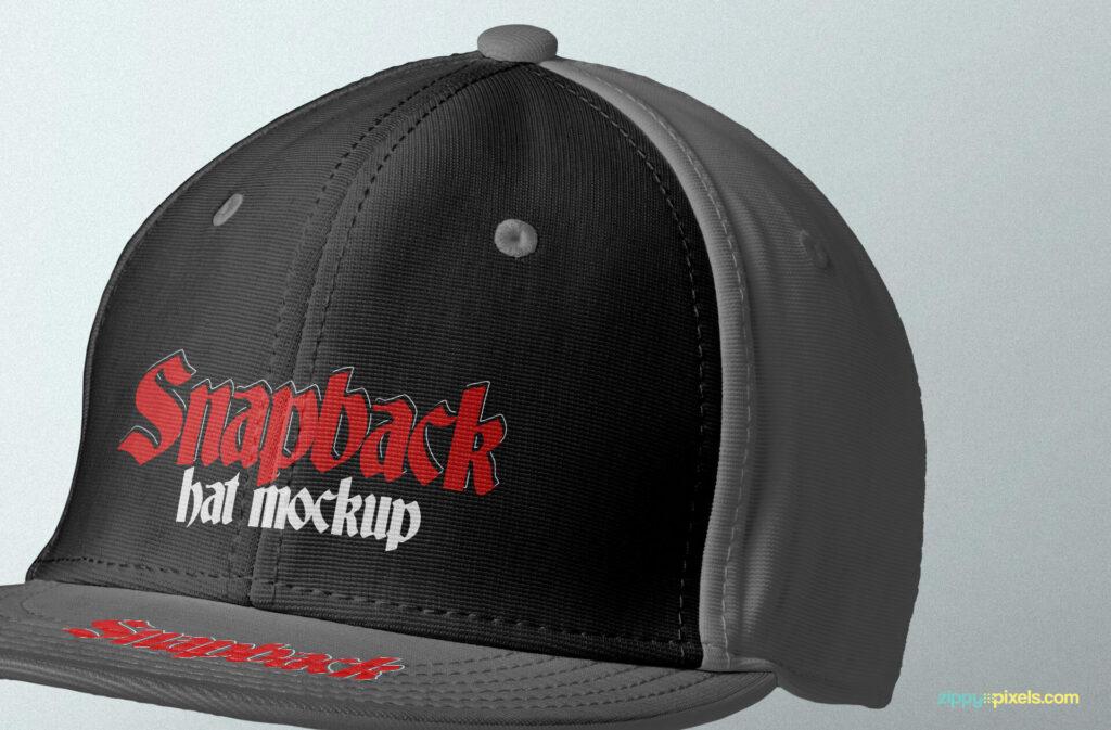 Free Attractive Snapback Mockup PSD Template3 (1)