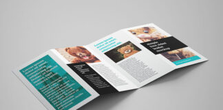 Free Beautiful 4-Panel Leaflet Mockup PSD Template (1)