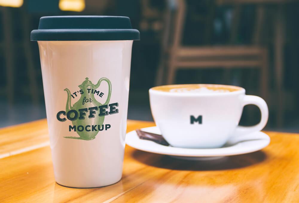 Free Coffee Mug Mockup PSD Template (1)