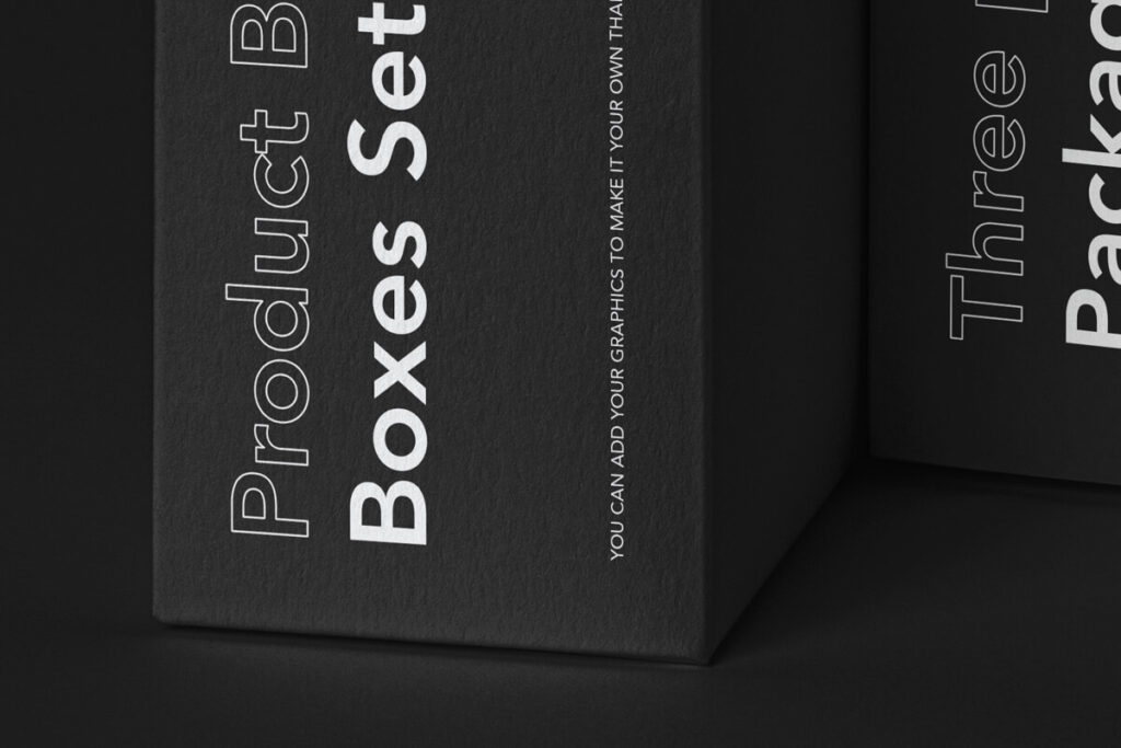 Free Complete Box Mockup Product Branding Set PSD Template2 (1)