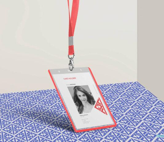 Free Corporate ID Card Mockup PSD Template (1)