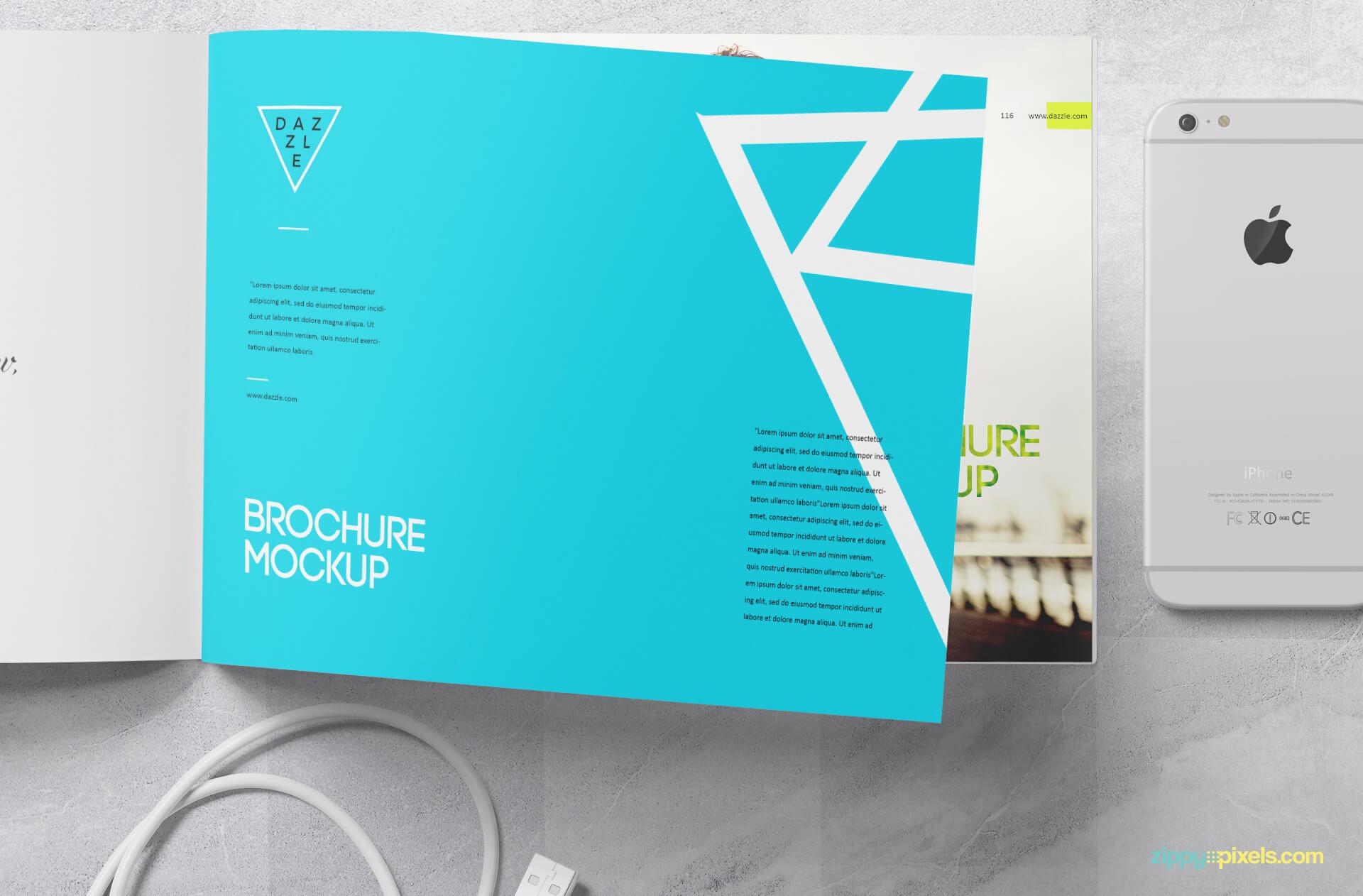 Free Designable Swift Brochure Mockup PSD Template2 (1)