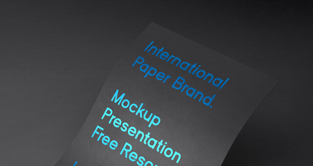 Free European International Paper Mockup PSD Template (1)
