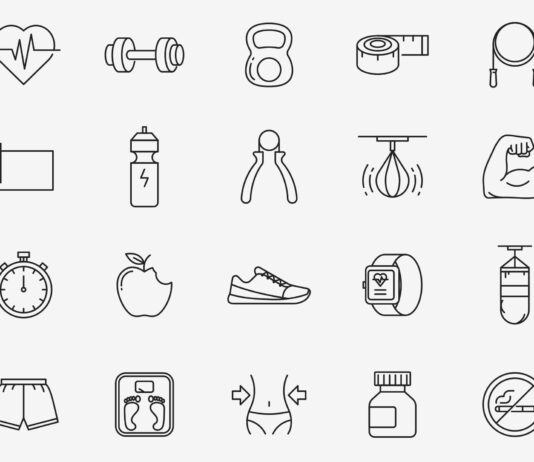 Free Fitness Vector Icons (1)