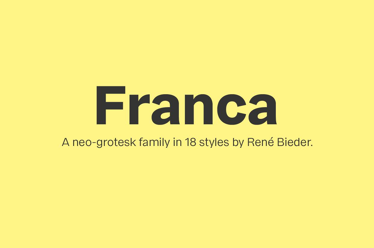 Free Franca Font Family Demo (1)