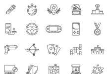 Free Funny Gaming Vector Icons (1)