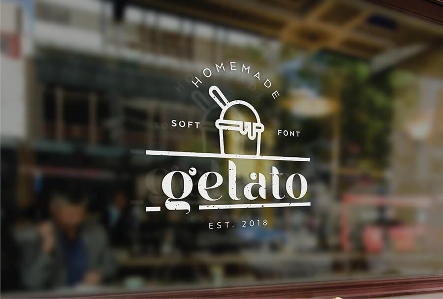Free Gelato Soft Display Font (1)