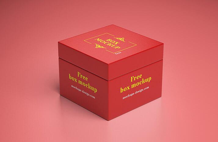 Free Glorious Gift Box Mockup PSD Template (1)