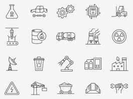 Free Growing Industrial Vector Icons (1)