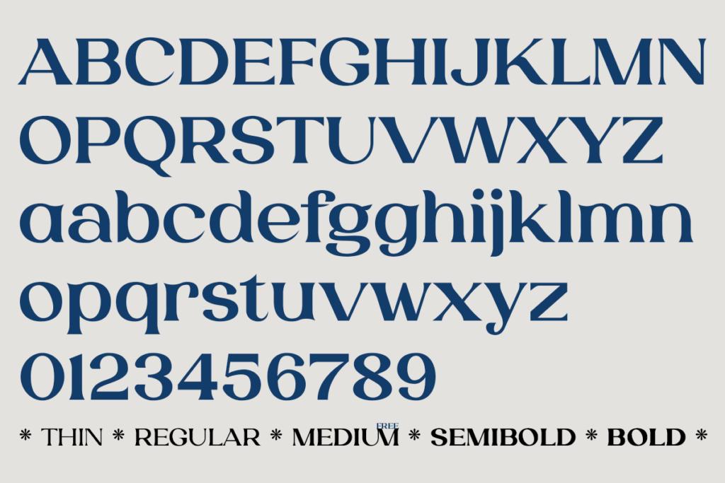Free Laviossa Elegant Serif Font2 (1)