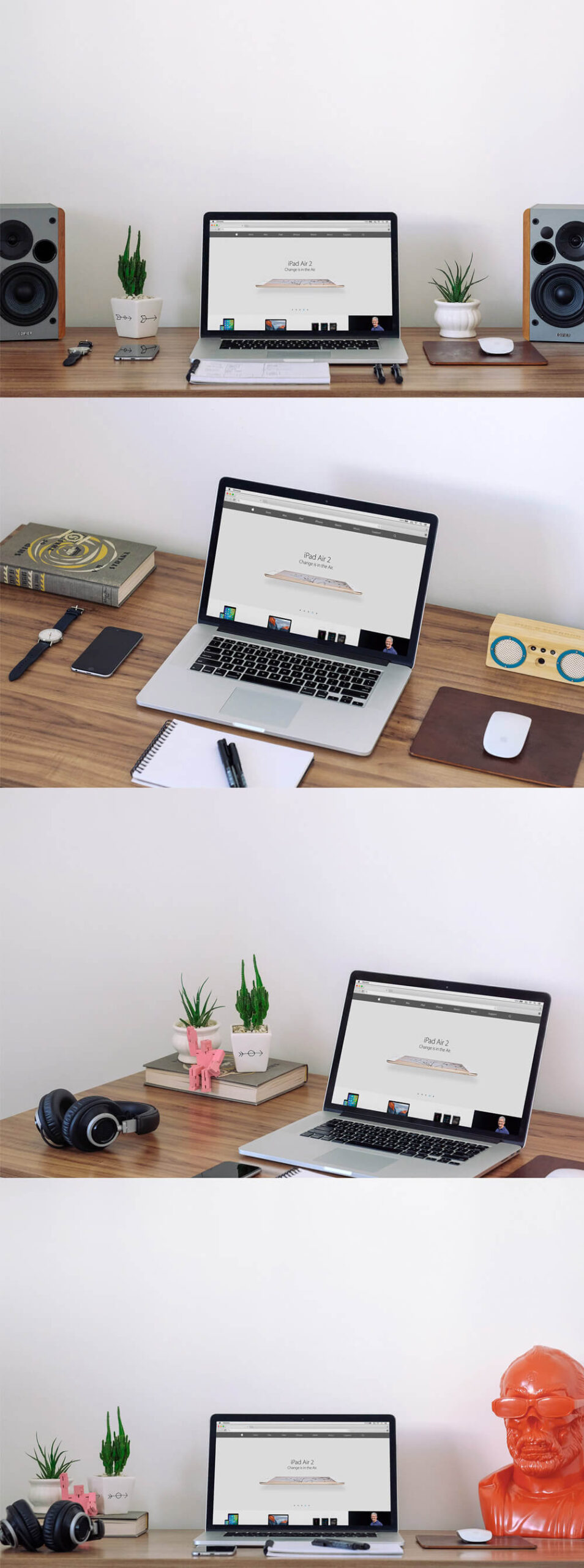 Free Macbook Workspace Mockup PSD Template1 (1)