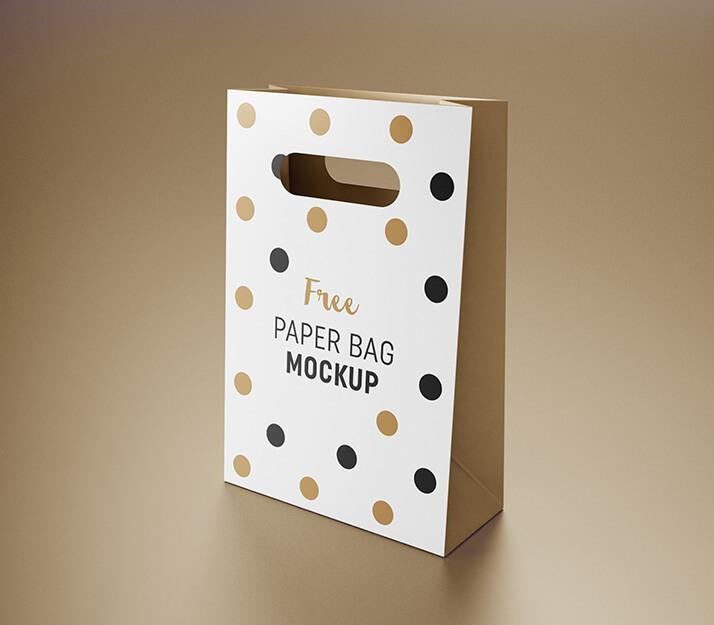 Free Modern Gift Bag Mockup PSD Template1 (1)