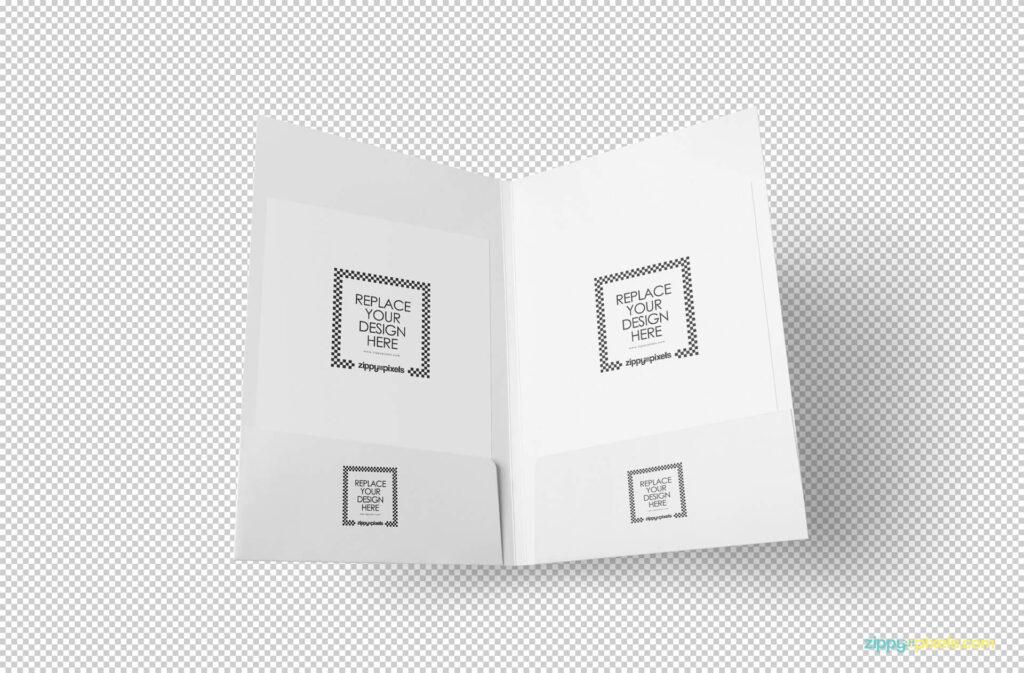 Free Outstanding 2 Folder Mockups PSD Template1 (1)