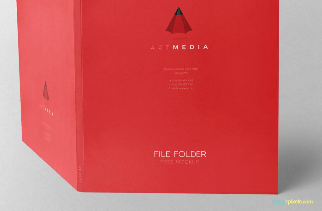 Free Outstanding 2 Folder Mockups PSD Template3 (1)