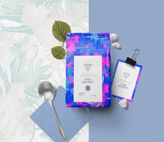Free Packaging Pouch Mockup PSD Template (1)