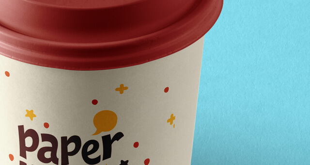 Free Perspective Paper Hot Cup Mockup PSD Template1 (1)