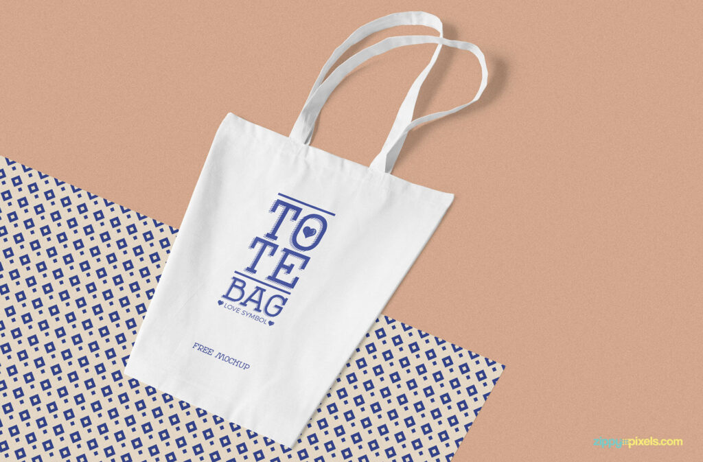 Free Professional Cotton Bag Mockup PSD Template (1)