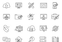 Free Realistic Design & Development Vector Icons (1)