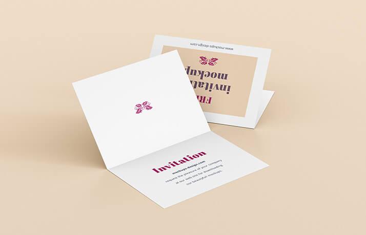 Free Realistic Invitation Mockup PSD Template3 (1)
