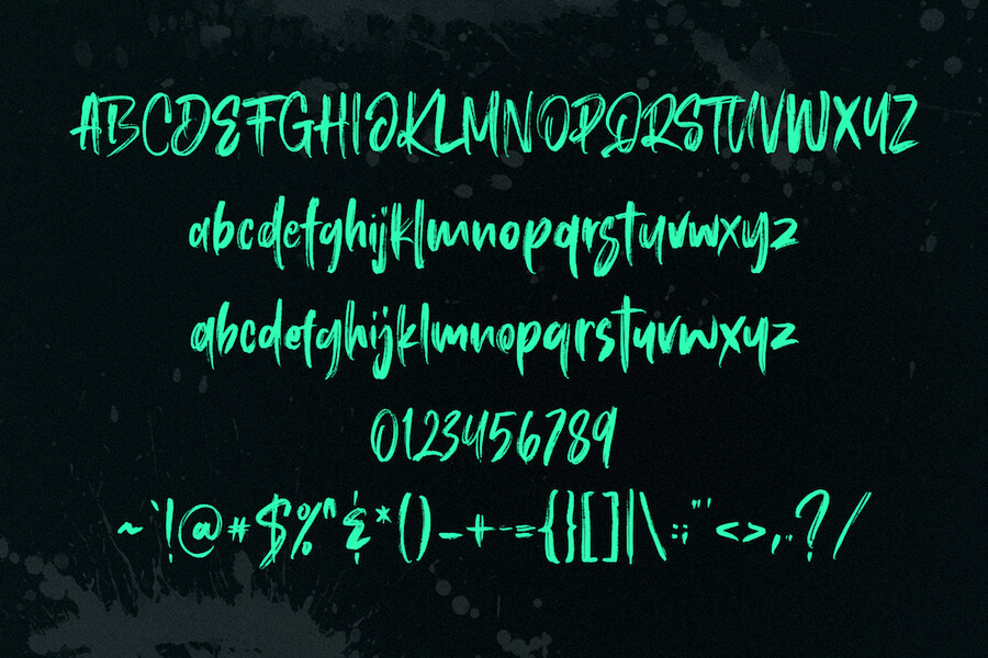 Free Roosevelt Brush Font Demo1 (1)