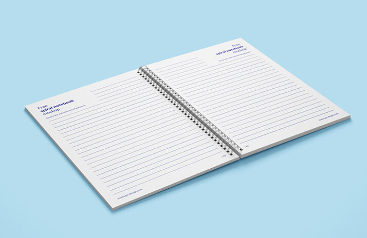 Free Spiral Notebook Mockup PSD Template1 (1)