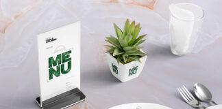 Free Table Menu Mockup Scene PSD Template (1)