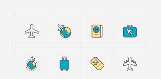 Free World Aviation Vector Icons (1)