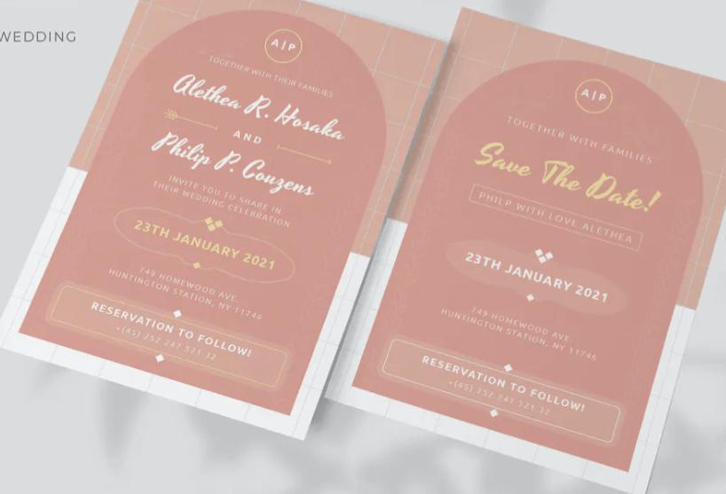 Gellys - Wedding Invitation