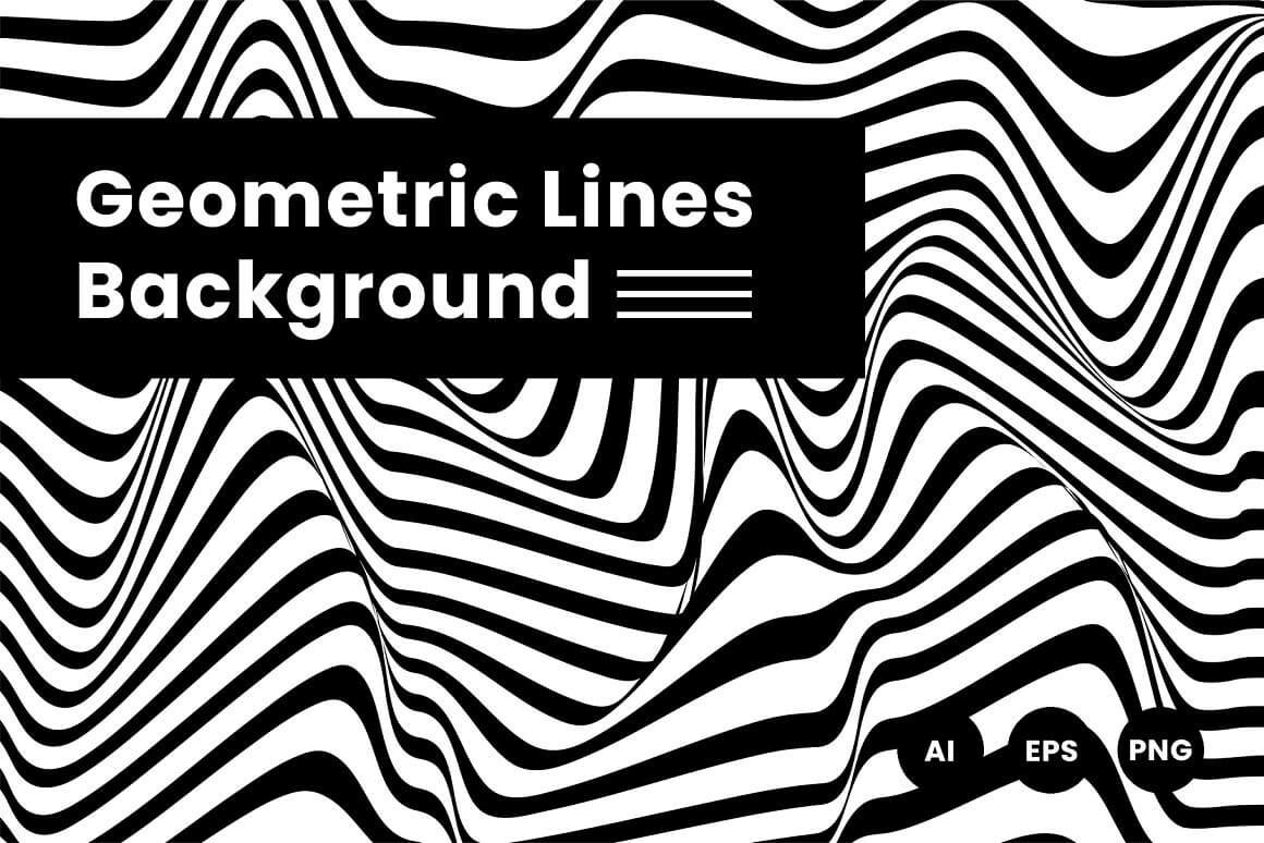Geometric Lines Background (1)