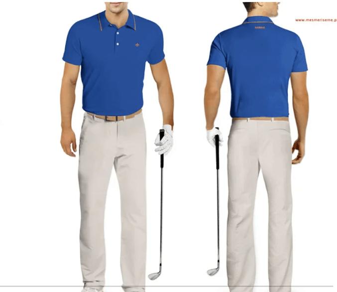 Golf Uniform Mock-up