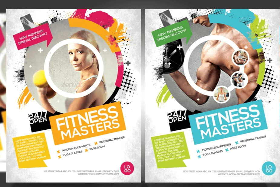 Gym Business Promotion Flyer