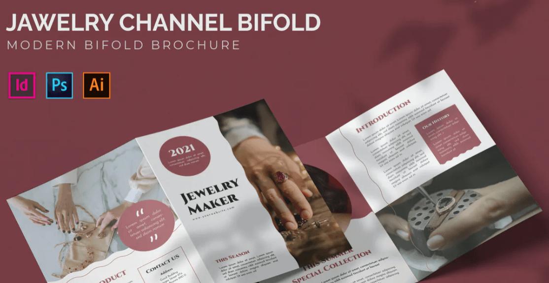 Jewelry - Bifold Brochure