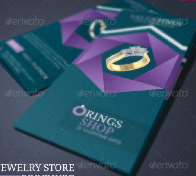 Jewelry Store Brochure
