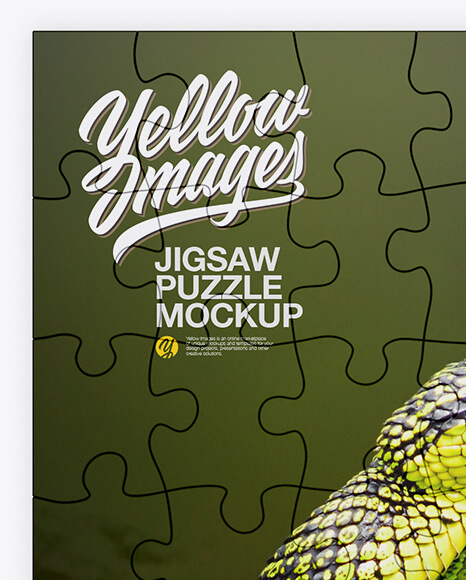 Jigsaw Puzzle Mockup - Top View (1)