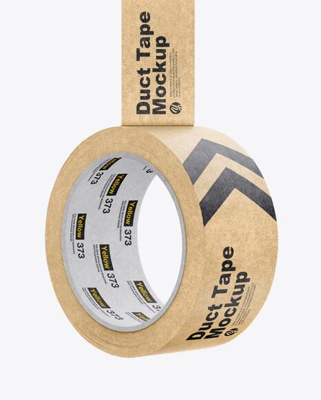 Kraft Duct Tape Mockup (1)