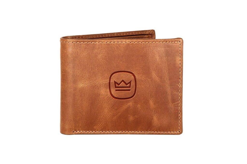 Leather Wallet Logo Mockup