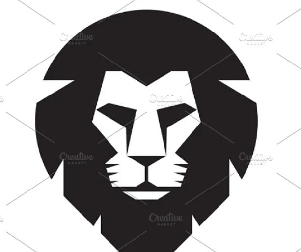 Lion Head Logo - Vector Sign