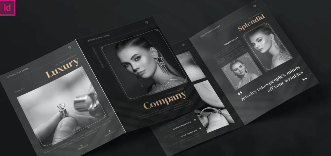 Luxury Jewelry - Bifold Brochure