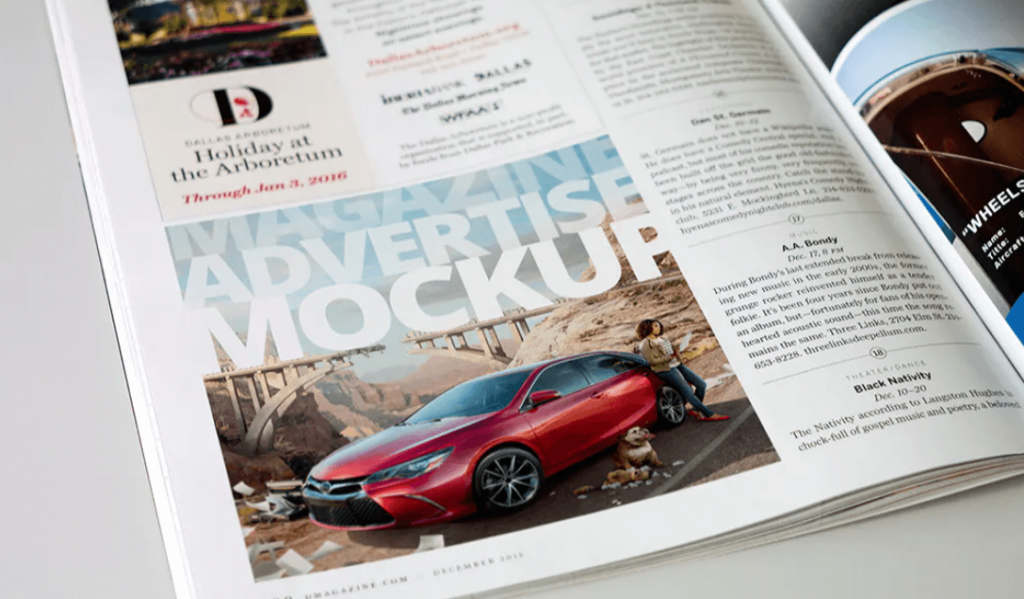 Magazine Advert Mockups v2