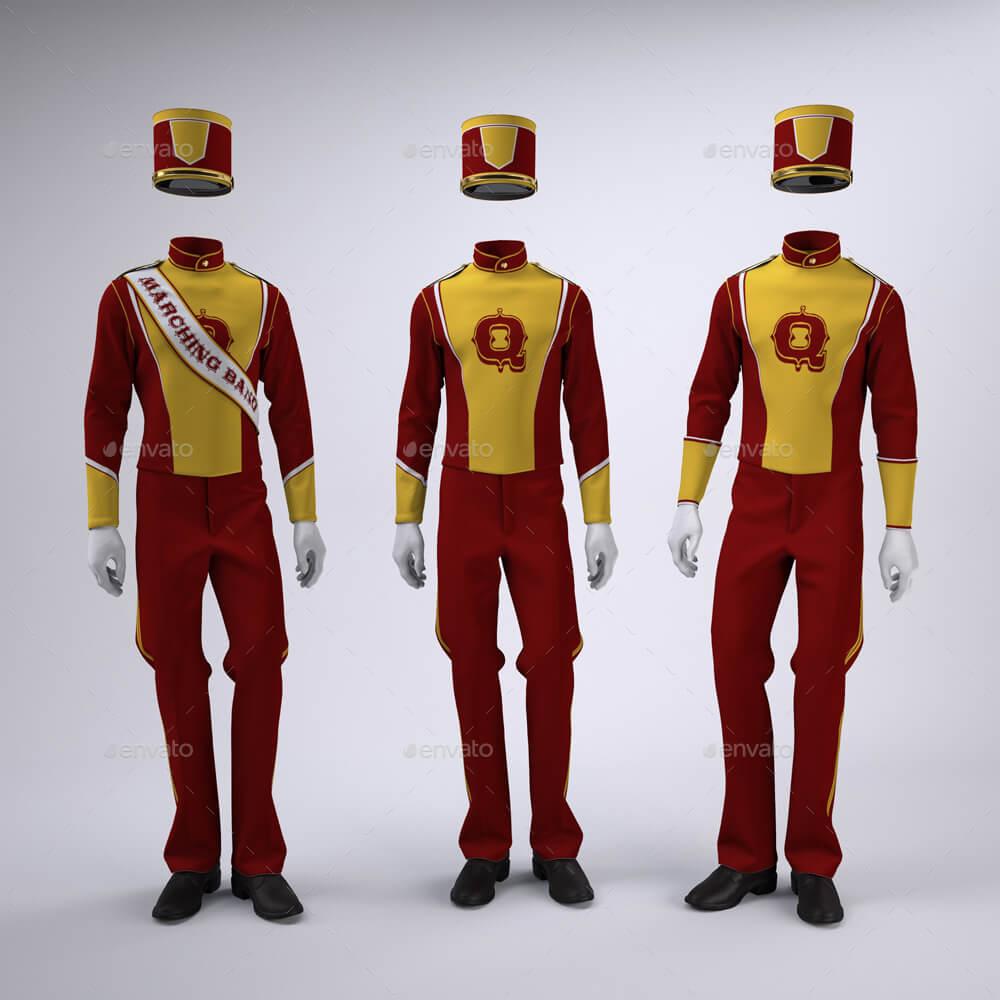 Marching Band Uniform Mock-Up (1)