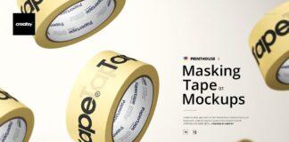 Masking Tape Mockup Set 01 (1)