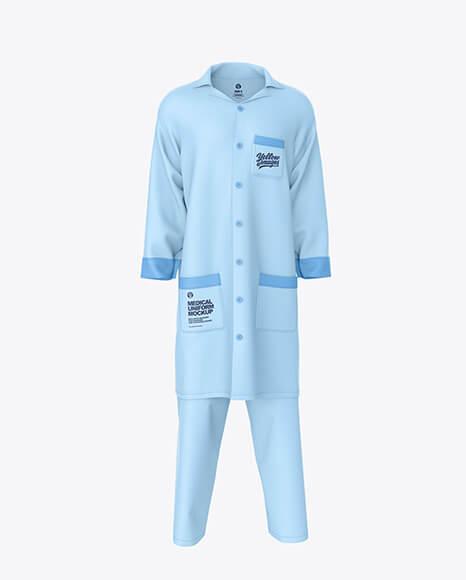 Medical Uniform Mockup – Front View (1)