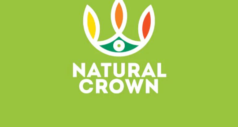 Natural Crown Logo Template