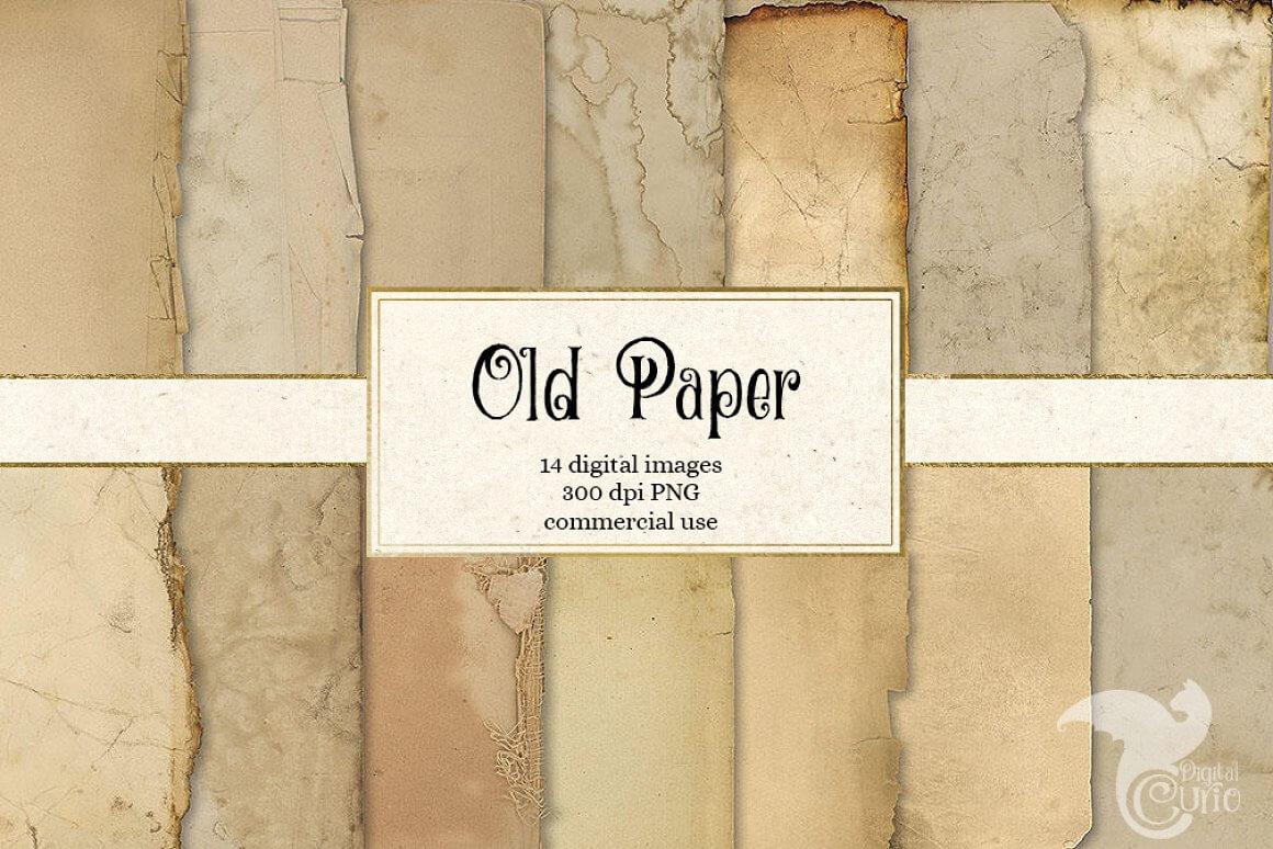 Old Paper Grunge Textures (1)