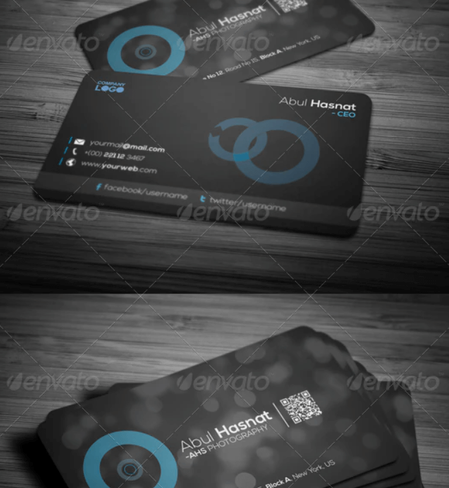 Photography Business Card Template2